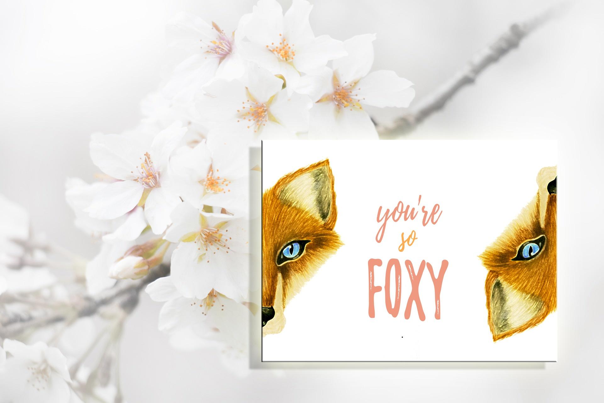 foxy plakat do druku