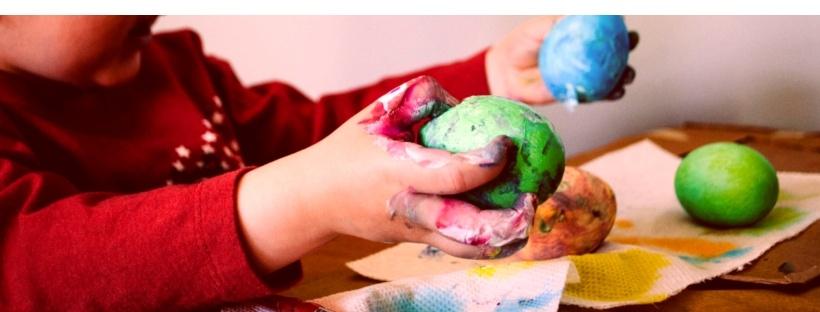 wielkanocne diy z dziećmi chytra sztuka